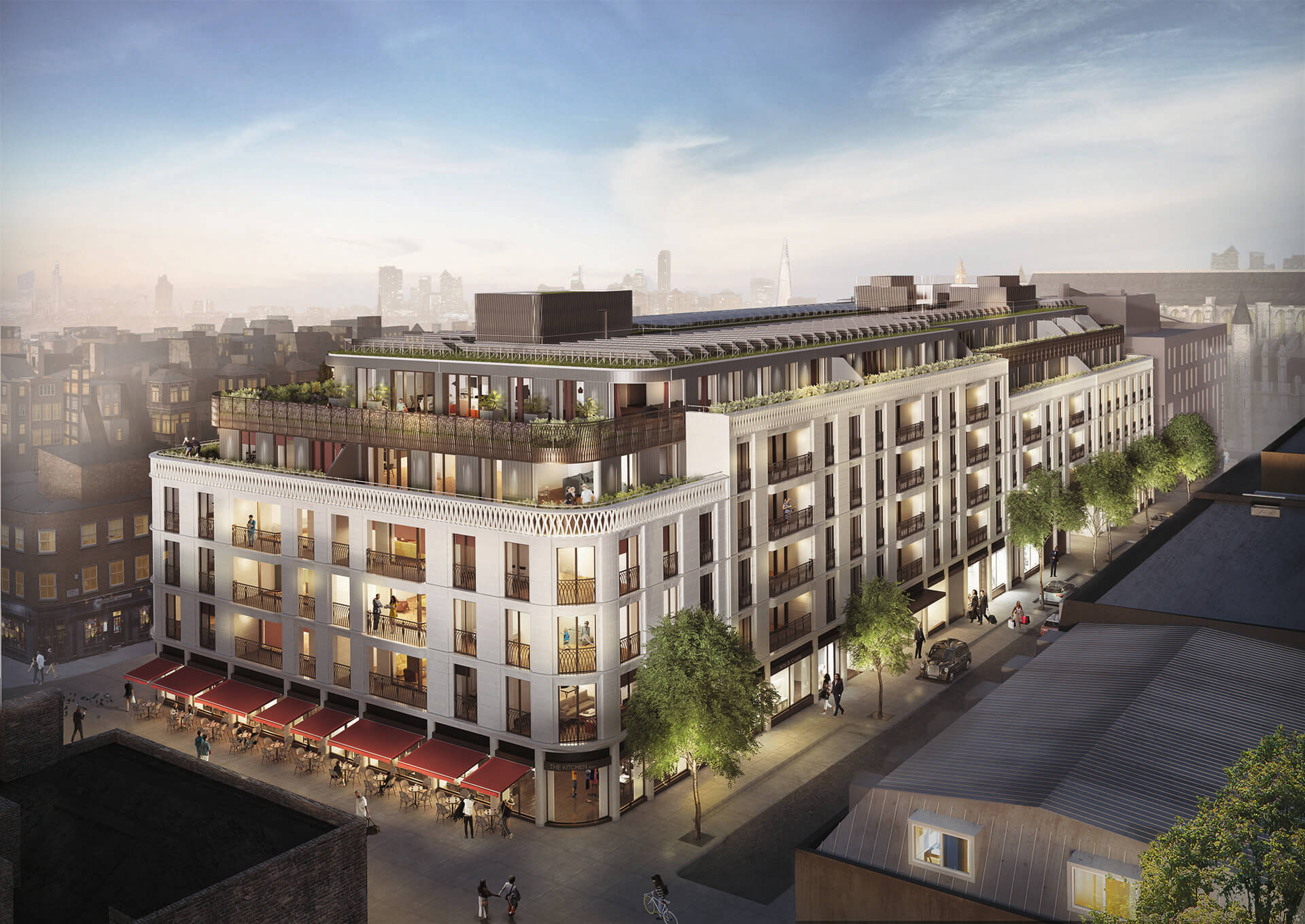 Marylebone Square Rendering